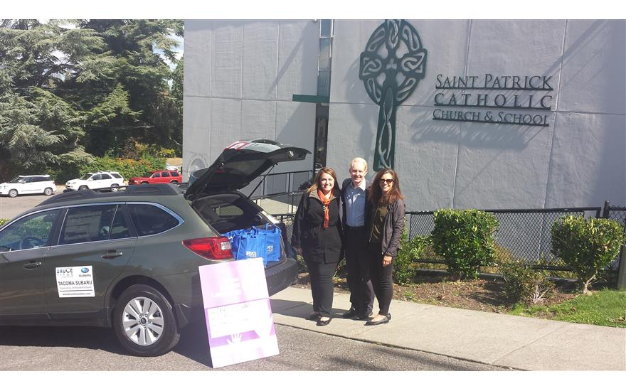 Stuff the Subaru School Supply Drive 2015
