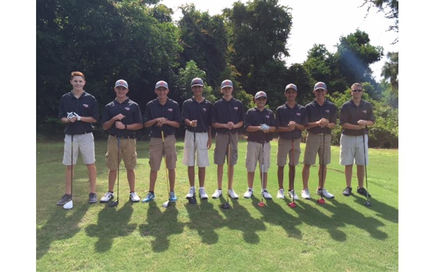 Montgomery Subaru Sponsors Boys Golf Team Shirts