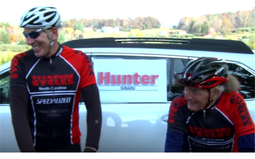 Hunter Subaru Sponsored Tour d'Apple Cycling