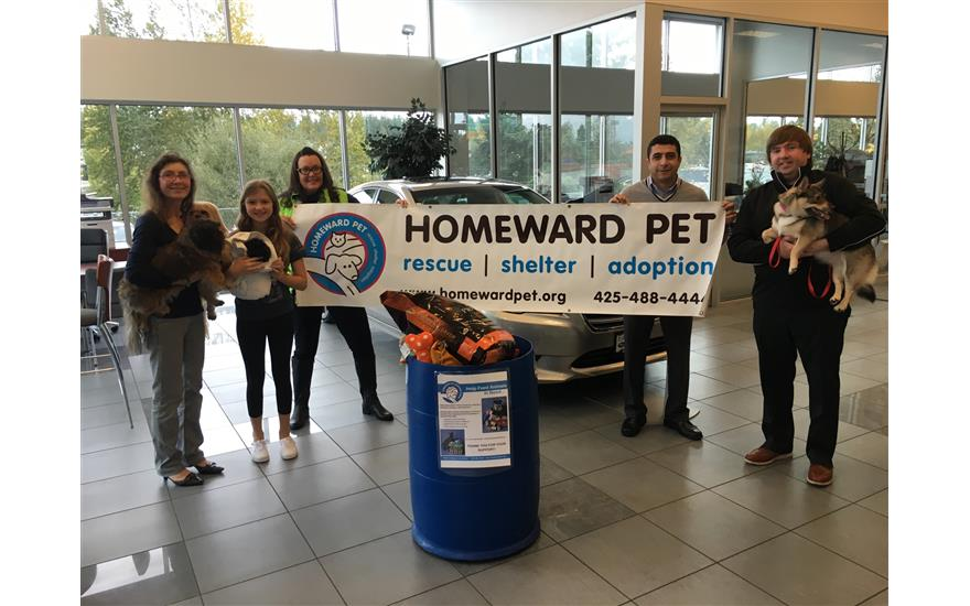 Pet Food Donation Event