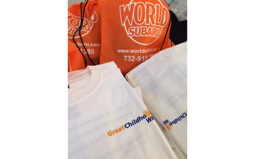 World Subaru sponsors Great Childhoods Walk