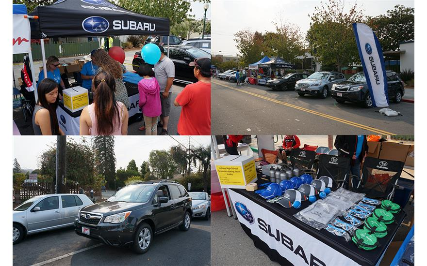 Albany Subaru at the annual Solano Avenue Stroll