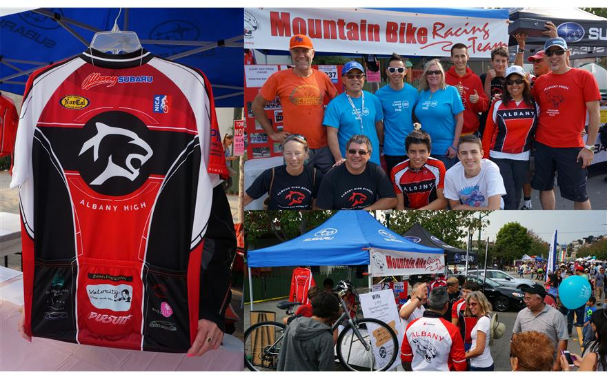 $1,500 raised for Albany High Mountain Biking Team