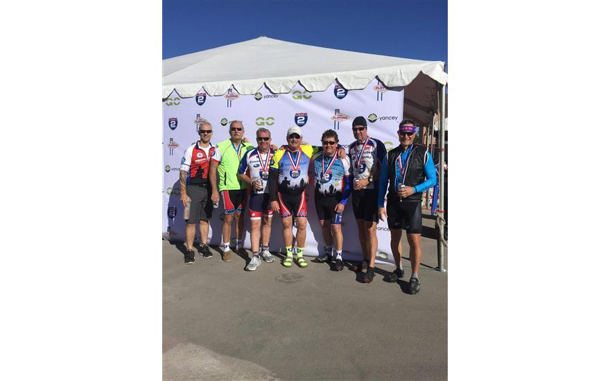 Evanston Subaru cycles in Las Vegas Honor Ride