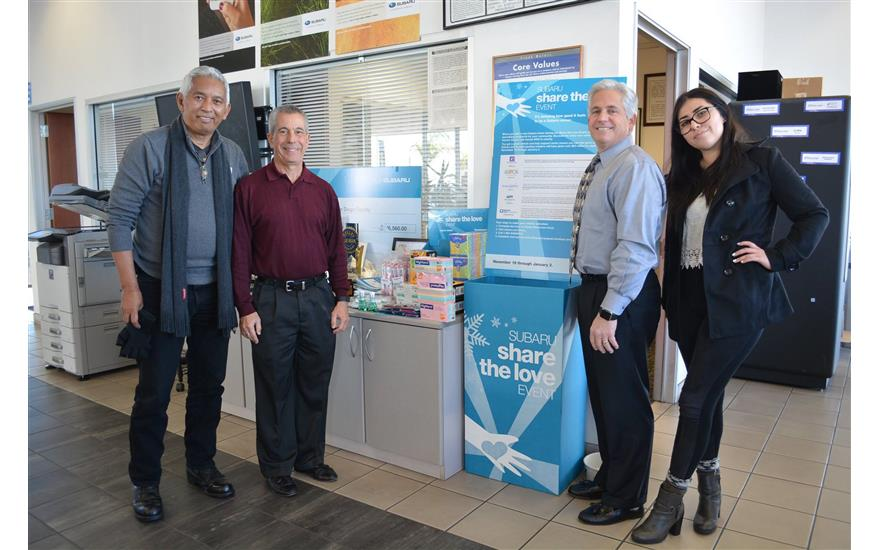 Frank Subaru Shares the Love with Meals On Wheels