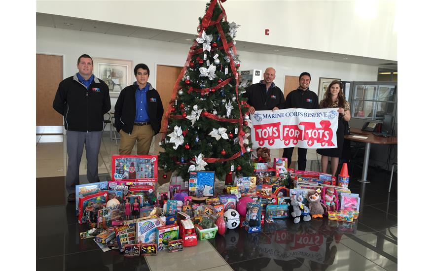 Motor Mile Subaru Toys for Tots Drive