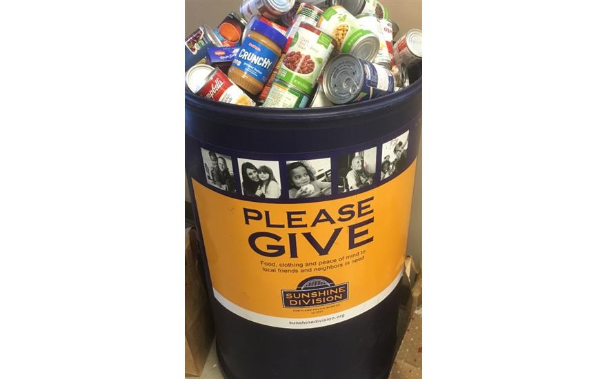 Wentworth Subaru Food Drive