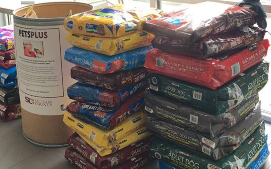 Nate Wade Subaru's Pet Food Drive