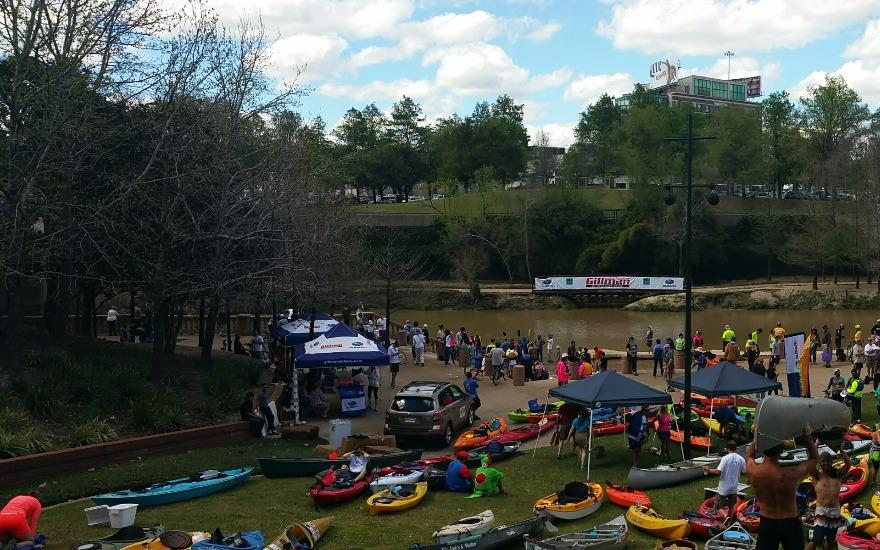 Gillman Supports Buffalo Bayou Regatta