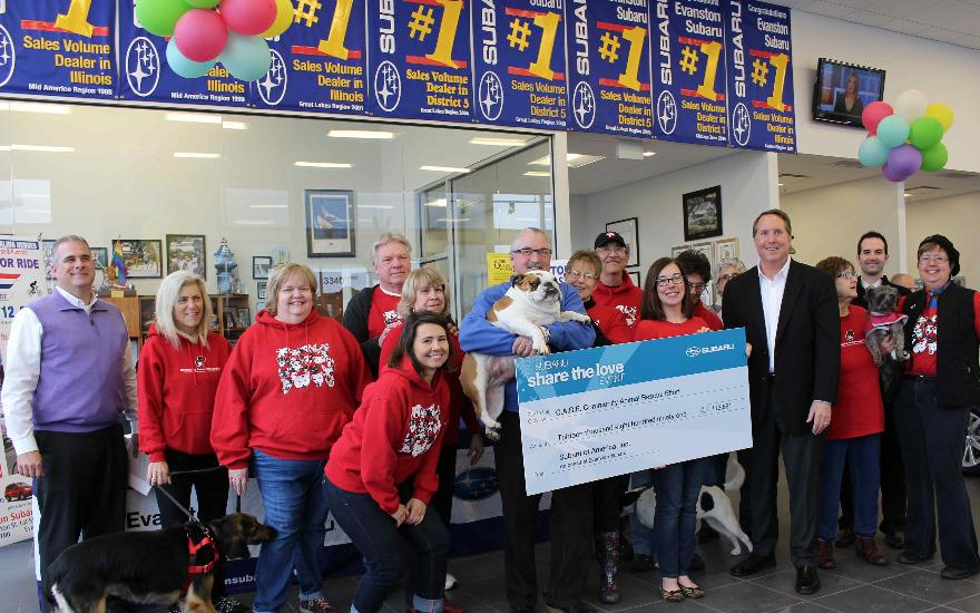 C.A.R.E. Shelter Gets Check for $13,891
