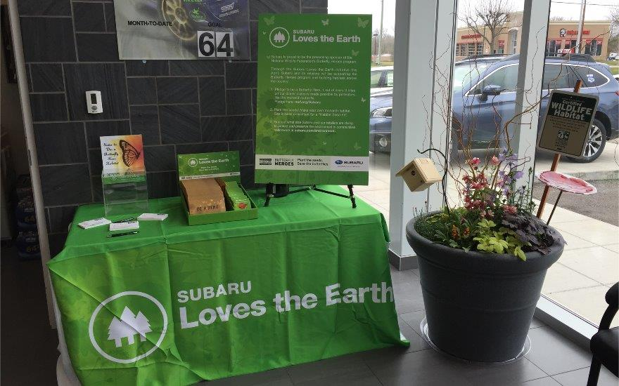 Subaru of Grand Blanc Loves the Earth