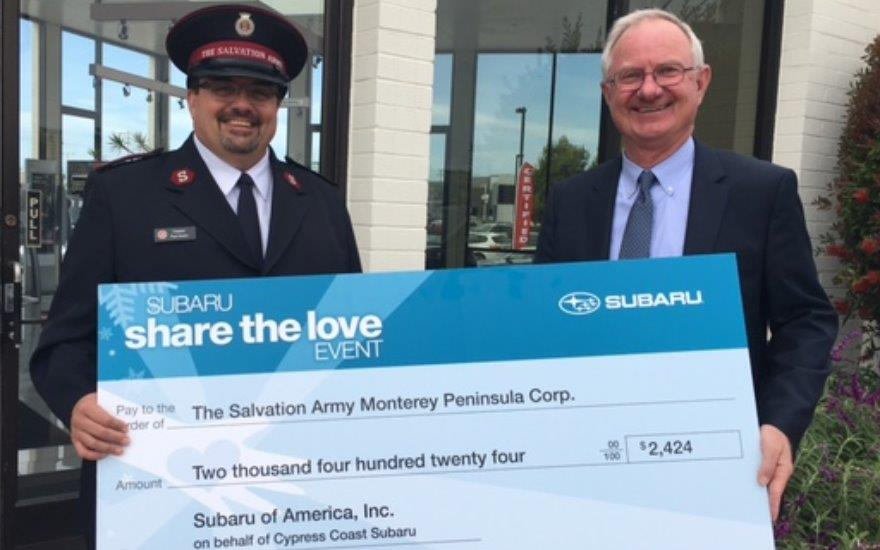 SUBARU SHARE THE LOVE 2015 - SALVATION ARMY
