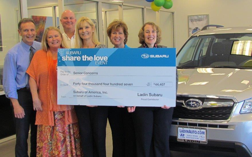 Ladin Subaru Truly Shares the Love