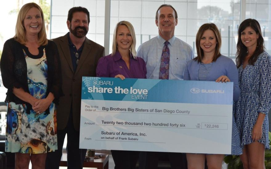 A Big Share the Love Thank You from BBBS of SDC