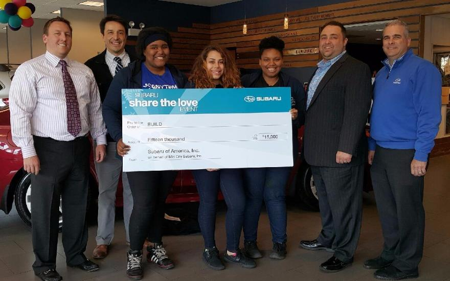 Mid City Subaru BUILDs Community!