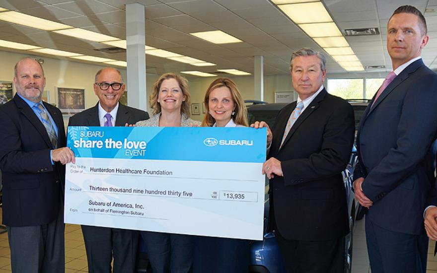 Flemington Subaru supports Hunterdon Healthcare