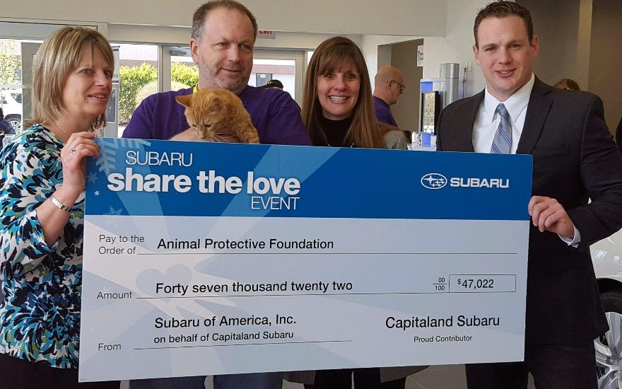 Subaru Share the Love Pet Adoption Event - Jason K