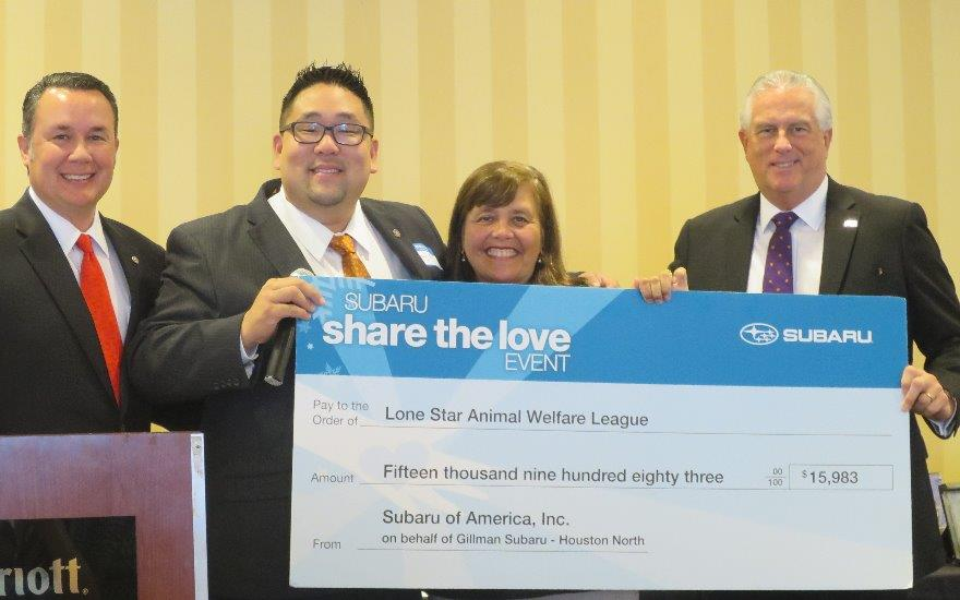 LSAW Receives Donation
