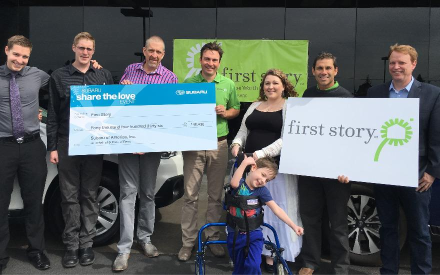 First Story Receives $40,000 For Local Family