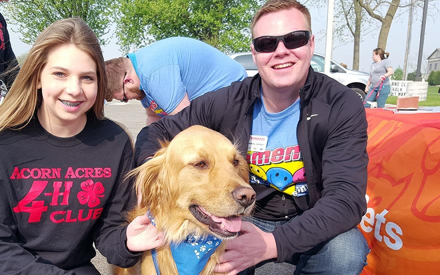 Furry-Friendly Pet Walk Supports Paws & Claws!
