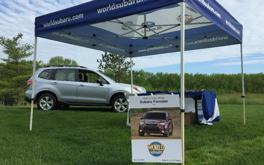 World Subaru supports The Jersey Strong Foundation