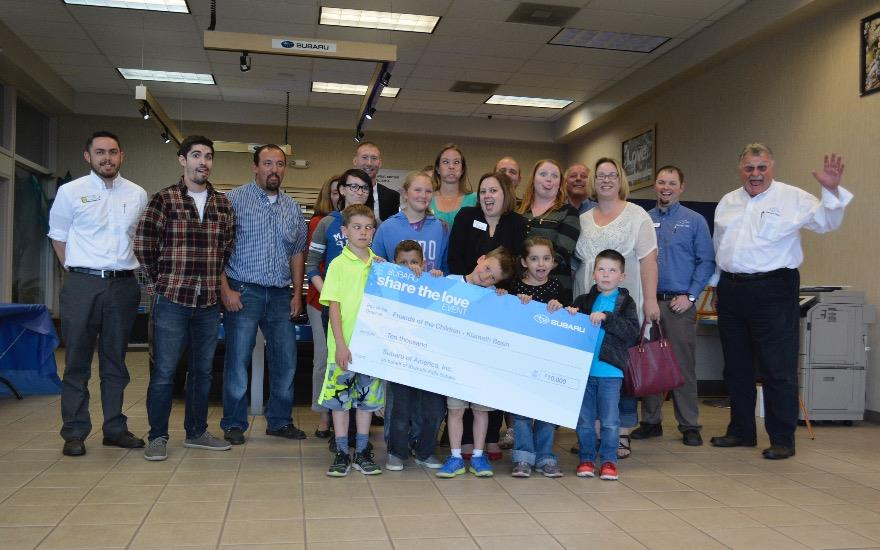 Friends of the Children Receives $10,000 Donation