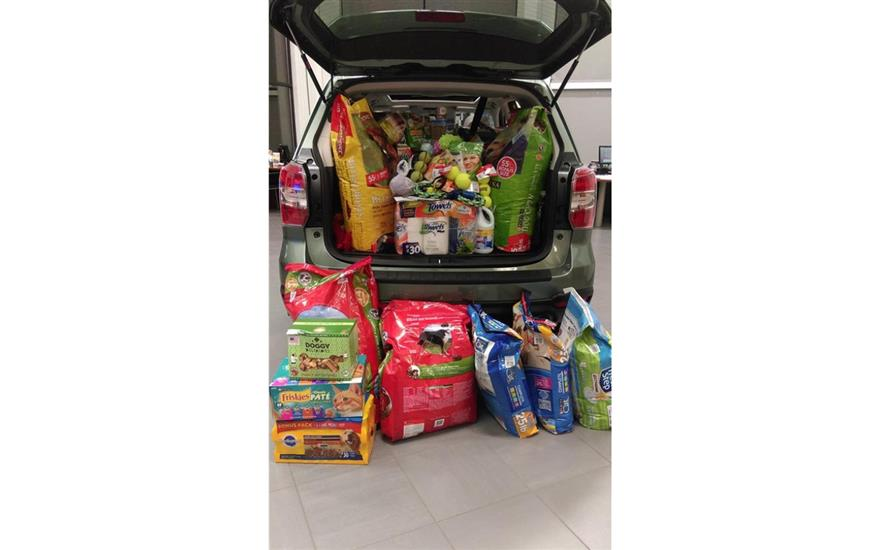 Filling-A-Forester for the Animals in Need