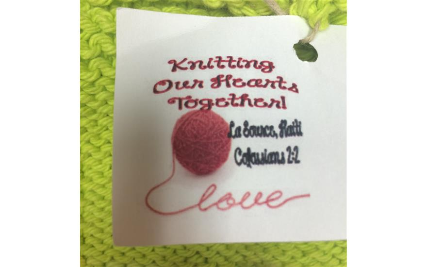 Knitting Our Hearts Together