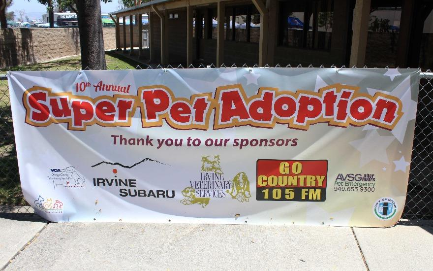Irvine Subaru & the Super Pet Adoption Event
