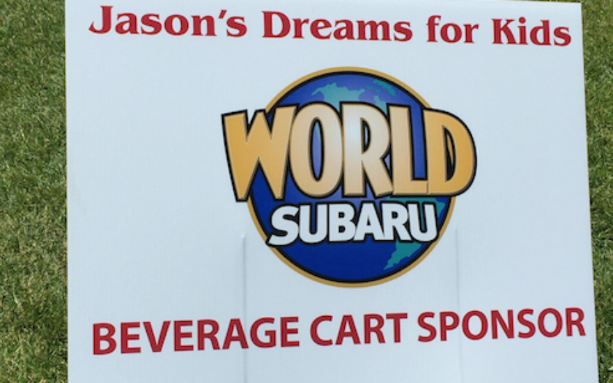 World Subaru Supports Jason's Dreams for Kids