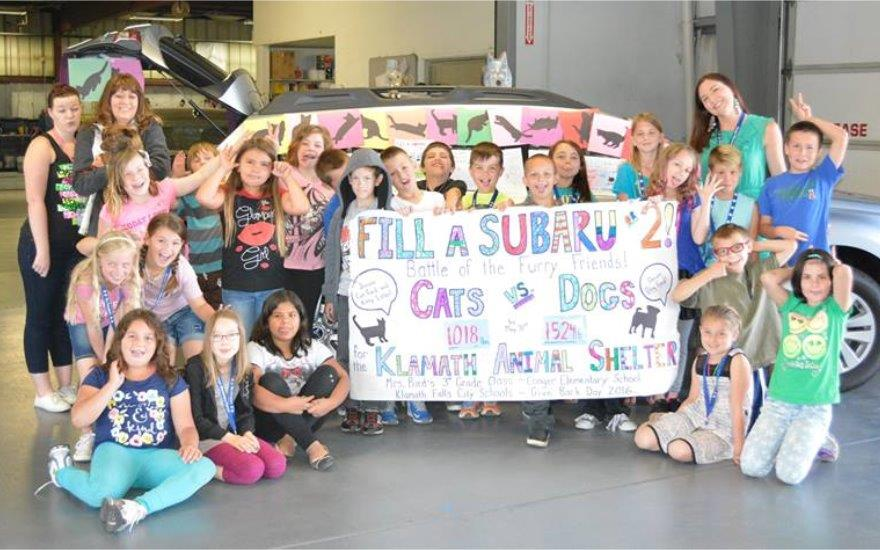 Fill A Subaru or 2 for the Klamath Animal Shelter