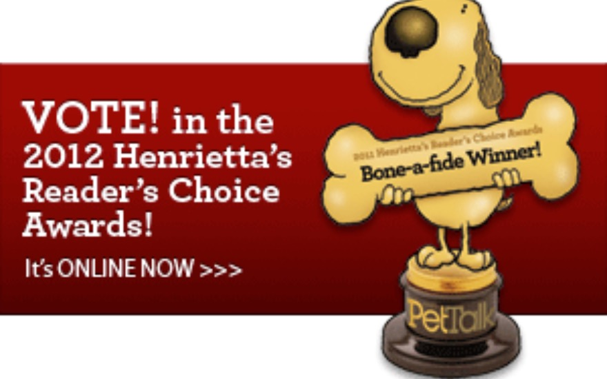 Pet Talk Readers' Choice Award