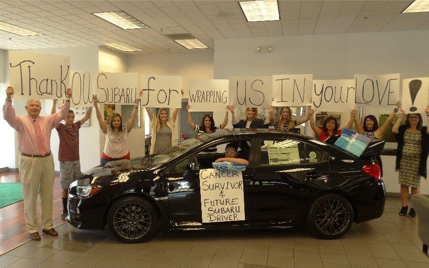 Lithia Subaru of Fresno Shares the Love