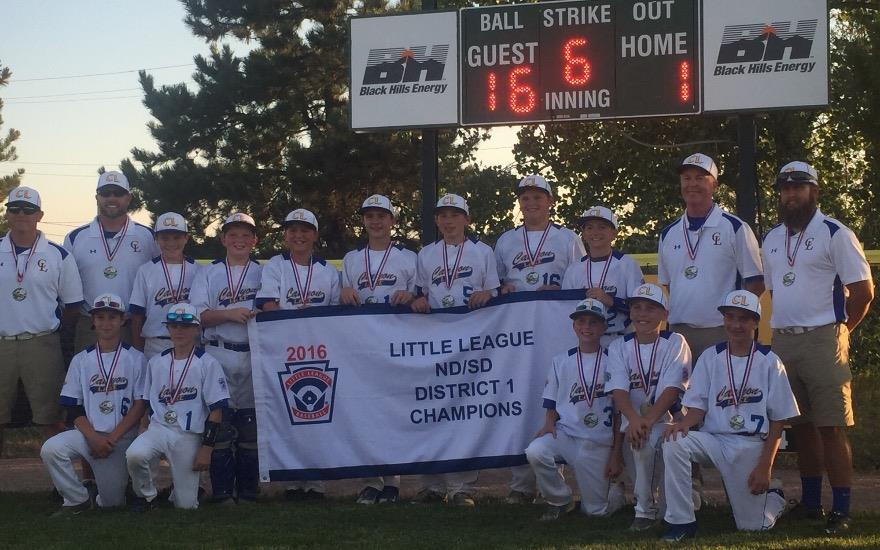 Canyon Lake Little League All-star team