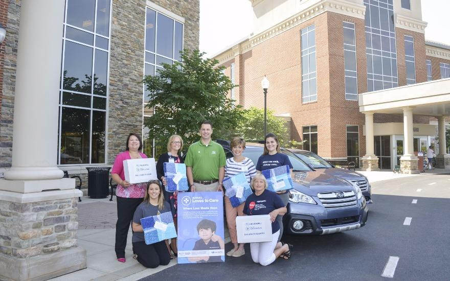 LLS Team Captain/Subaru Owner Gives Back