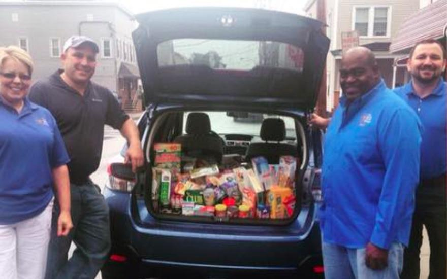 "North Country Subaru Hosts ""Drive For Hunger"""