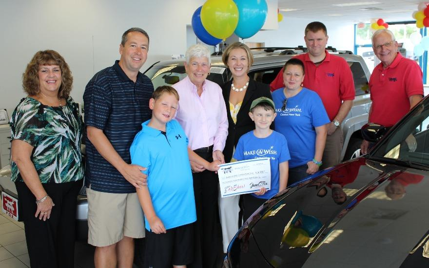 Fox Dealership Hosts Fundraiser for Make-A-Wish