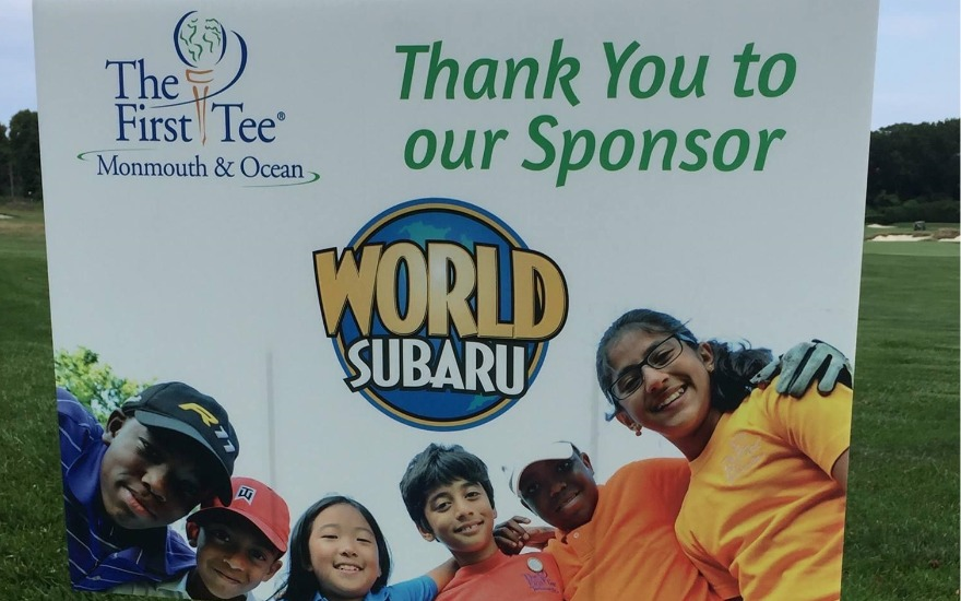 Proud Sponsor of The First Tee of Monmouth & Ocean