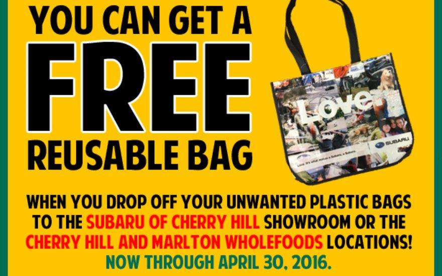 Re-Usable Shopping bag Give Away