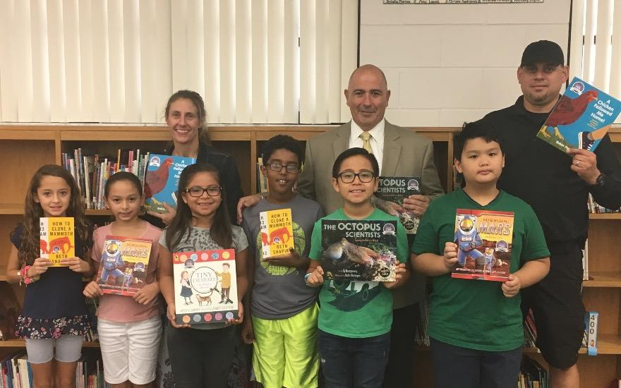Book Donation to Southwood Elementary