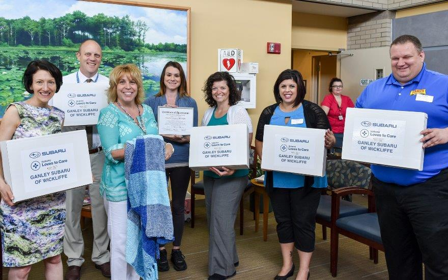 Subaru Loves to Care for the Seidman Cancer Center