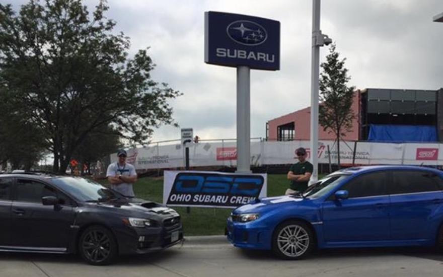 OSC meet sponsored by Hatfield Subaru