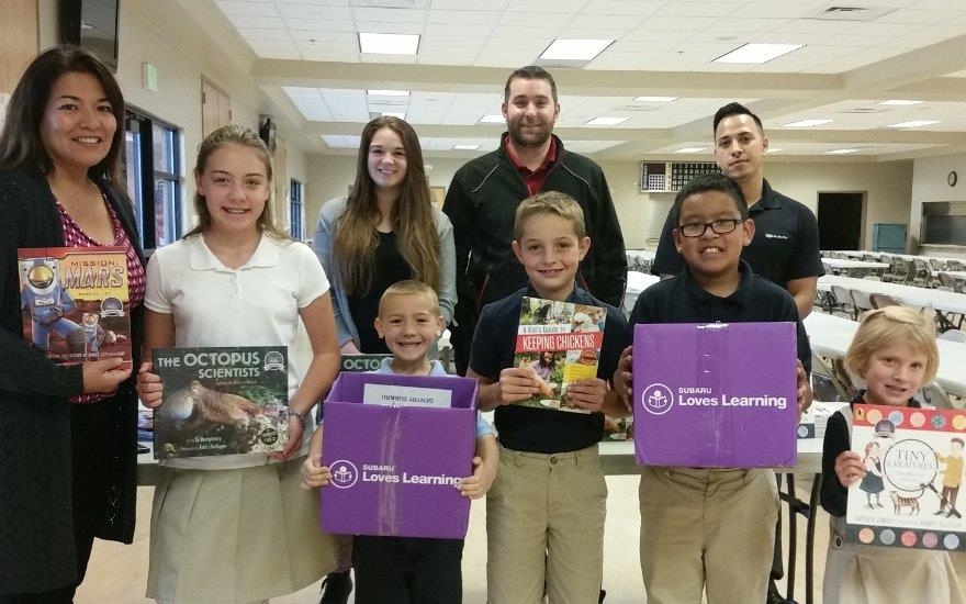 Gentry Subaru supports local education!