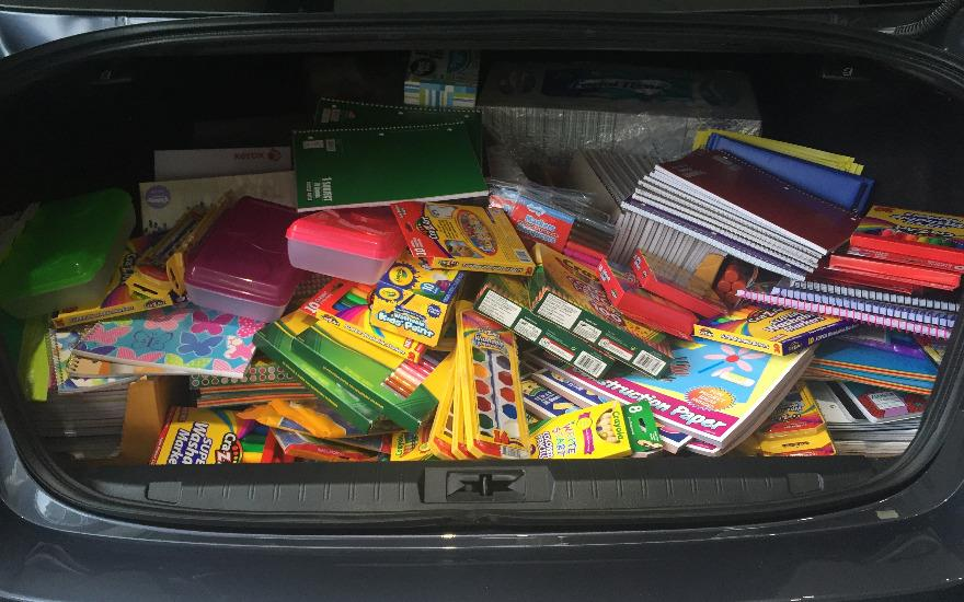 Subaru Love Learning School Supply Drive