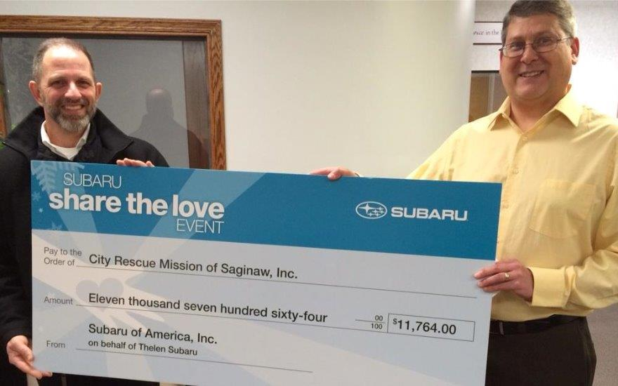 Thelen Subaru Cares for the Homeless and Hurting