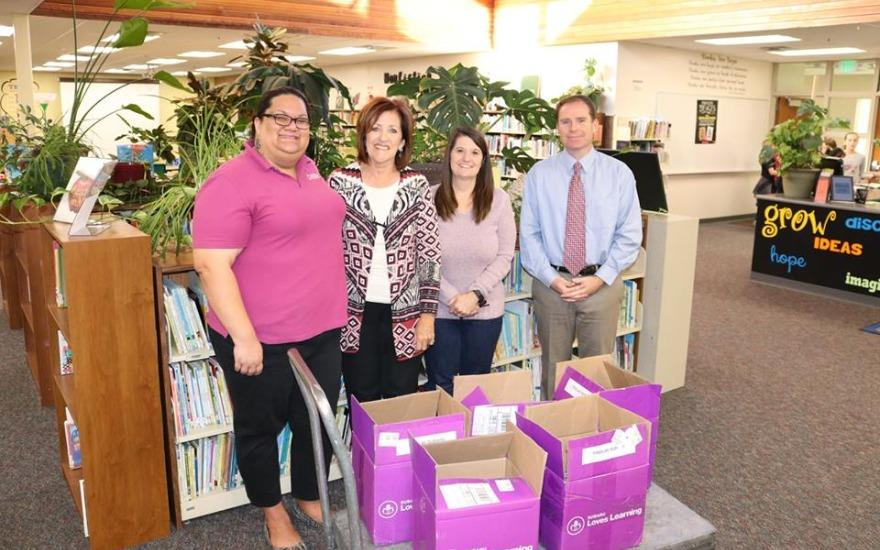 Findlay Subaru Donates Books