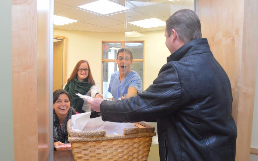 Donations directly to cancer patient care