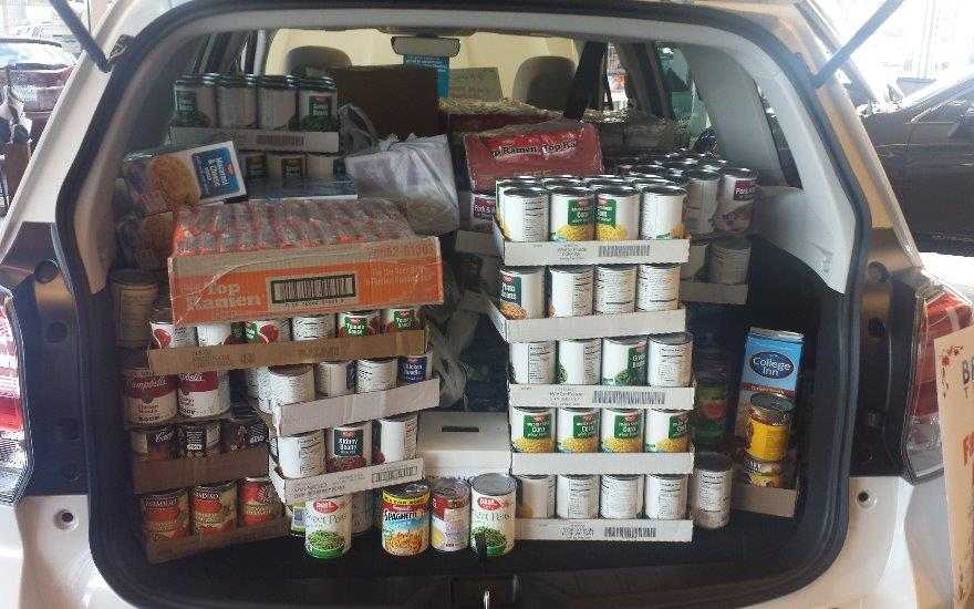 Fall Food Drive 2016  - Exceeding all expectations