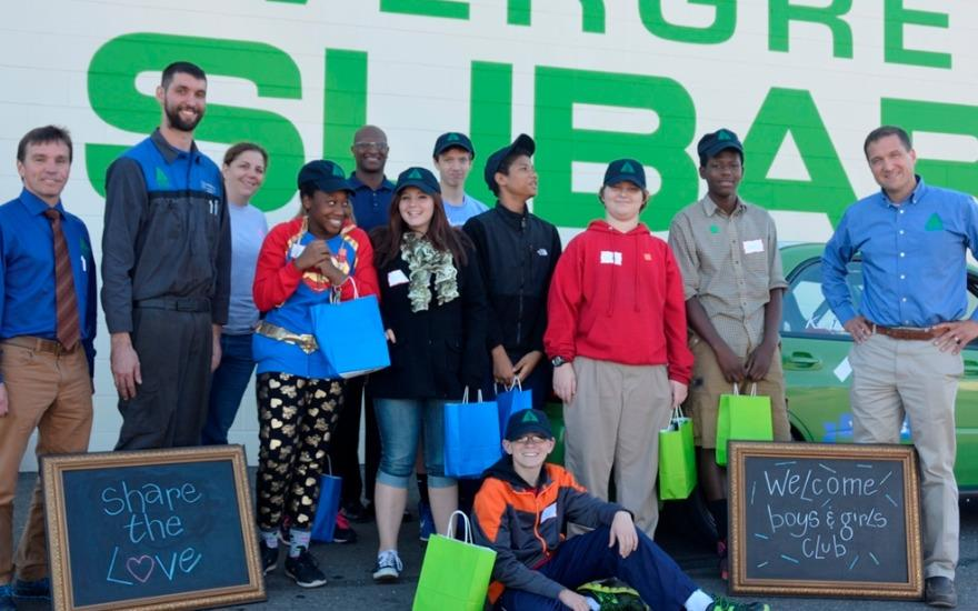 Evergreen Subaru Supports Boys & Girls Clubs!