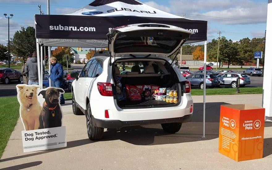 Serra Subaru of Traverse City Loves Pets